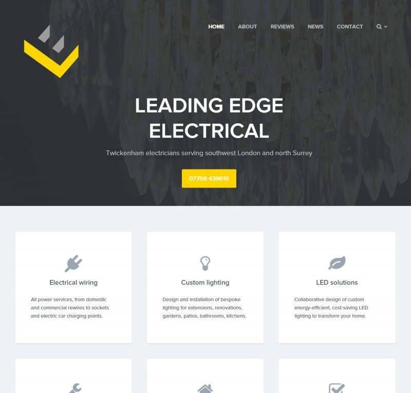 Leading Edge website