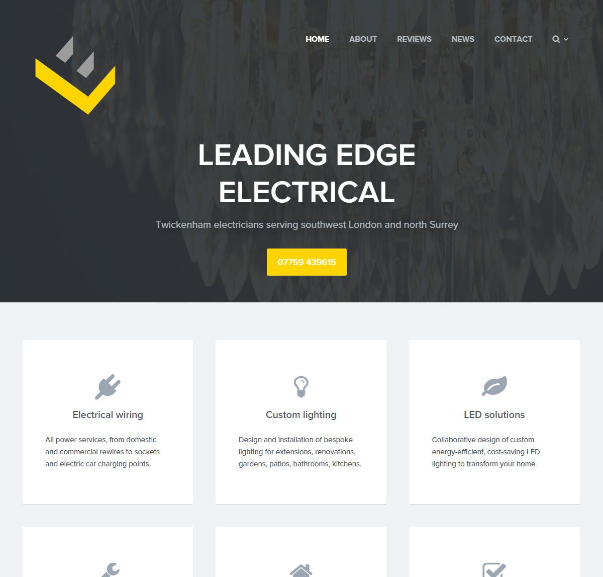 Leading Edge website